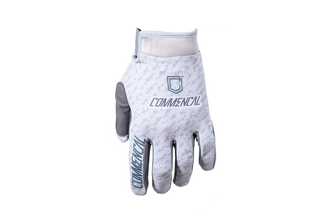 COMMENCAL GLOVES SCRATCH LIGHT GREY 2019