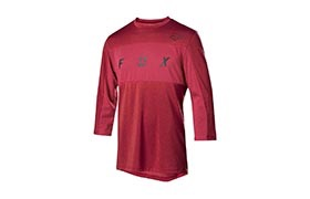 FOX DRI-RELEASE 3/4 SLEEVE JERSEY RED 2019