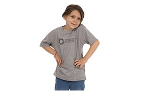 COMMENCAL KIDS SHIELD T-SHIRT HEATHER GREY