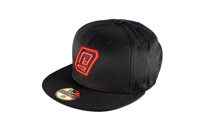 COMMENCAL SNAPBACK CAP BLACK/RED