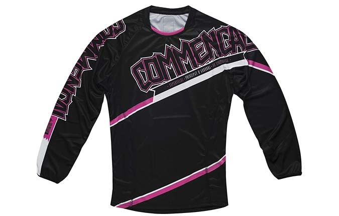 JERSEY LONG SLEEVE DH PINK 2015