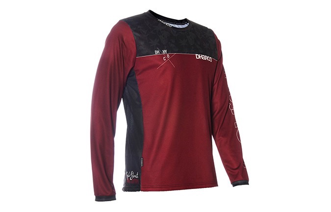 DHARCO MENS LONG SLEEVES GRAVITY JERSEY- KYLE STRAIT RAMPAGE EDITION