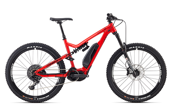 META POWER RACE 650B+ SHINY RED 2018