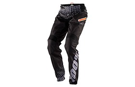 100% KIDS R-CORE SUPRA DH PANTS BLACK/GREY
