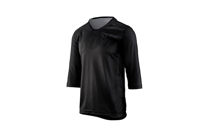 100% AIRMATIC 3/4 SLEEVE JERSEY BLACK 2018