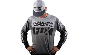 COMMENCAL JERSEY BY FOX HEAD GREY