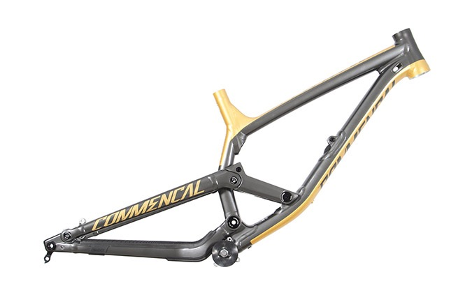 FRAME FURIOUS METRIC GREY/GOLD TEAM 2018