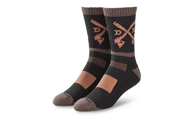 DAKINE STEP UP SOCKS BLACK/TARMAC 2018