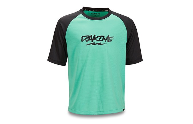 DAKINES KIDS SHORT SLEEVE PRODIGY JERSEY ELECTRIC MINT 2019