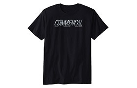 COMMENCAL CORPORATE T-SHIRT BLACK