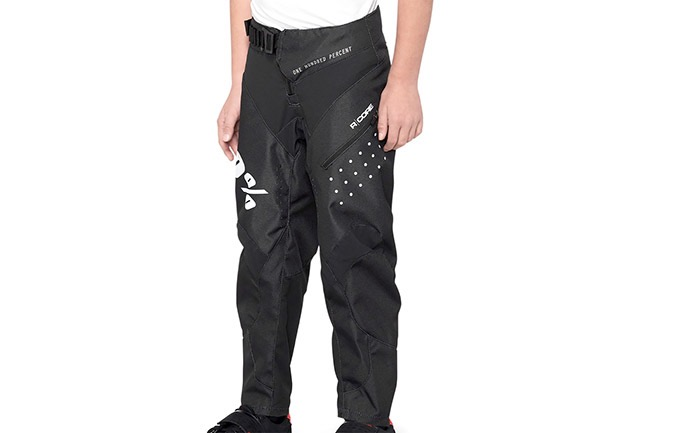 100% R-CORE YOUTH PANTS BLACK 2020