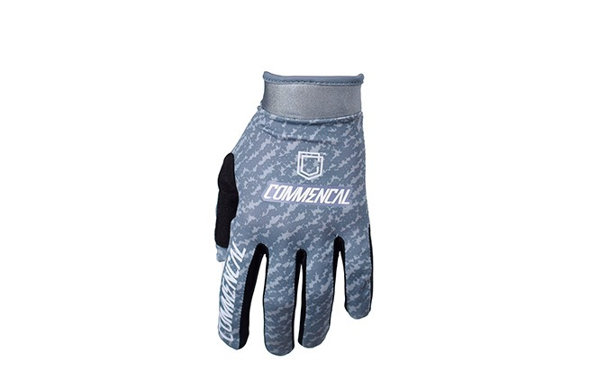 COMMENCAL GLOVES DARK GREY 2019