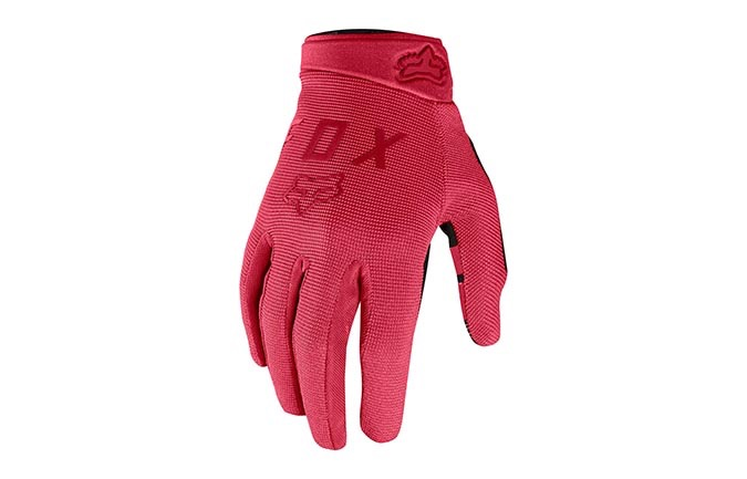 FOX WOMAN RANGER GLOVES OPEN RED 2019