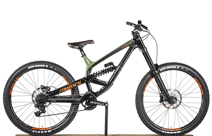 FURIOUS BRITISH COLUMBIA 650B GREEN/ORANGE/BLACK 2018 (M)