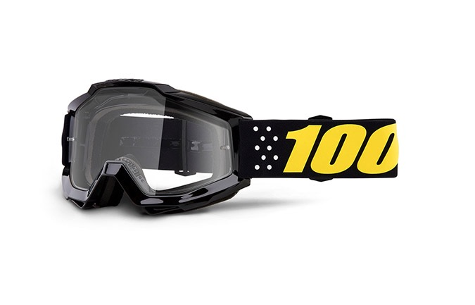 100% KIDS ACCURI PISTOL GOGGLE - CLEAR LENS