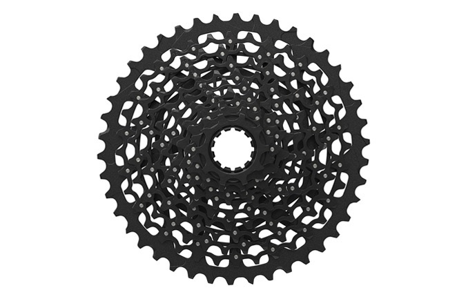 2015 SRAM X1 CASSETTE. 11SPEEDS. 10-42T. BLACK