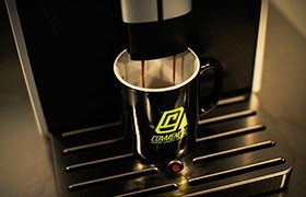 MUG COMMENCAL LOGO BLACK 2016