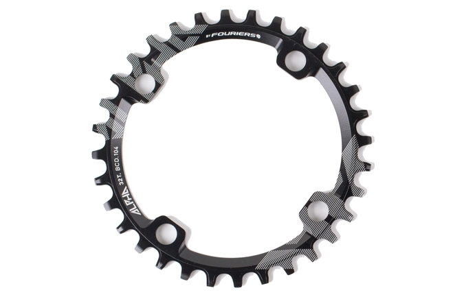 RIDE ALPHA 30T NARROW WIDE CHAIN RING 2016