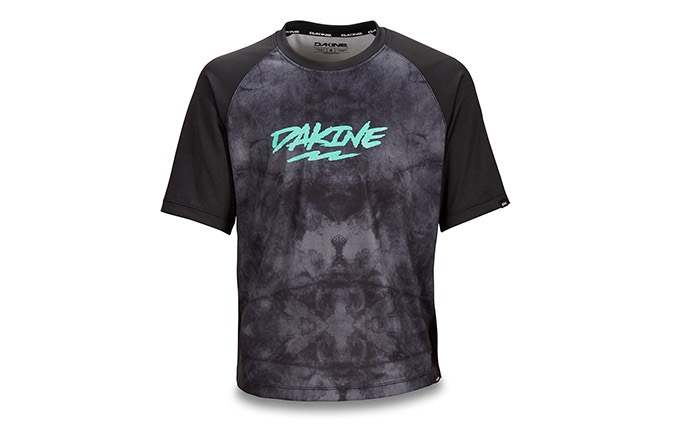 DAKINE KIDS SHORT SLEEVE PRODIGY JERSEY BLACK HAZE 2019