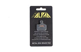 RIDE ALPHA SINTERED BRAKE PADS FOR AVID LEVEL DB1/DB3/DB5 2016