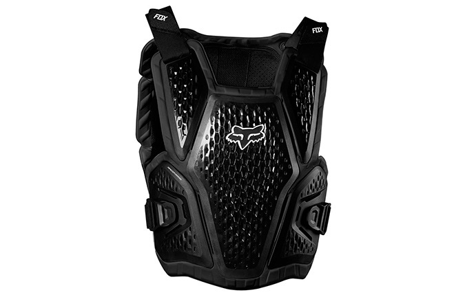 FOX YOUTH IMPACT VEST RACEFRAME ROOTS BLACK