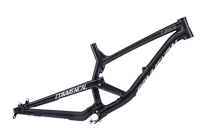 FRAME FURIOUS 650B BLACK  2018