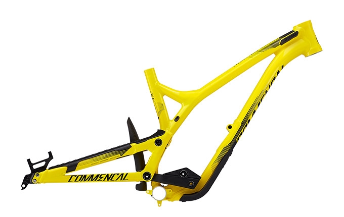 FRAME SUPREME DH V4.2 YELLOW 2017