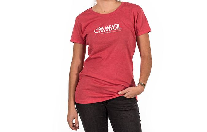 T-SHIRT BUBBLE RED GIRLY 2018