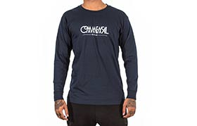 T-SHIRT LONG SLEEVE BUBBLE NAVY 2018