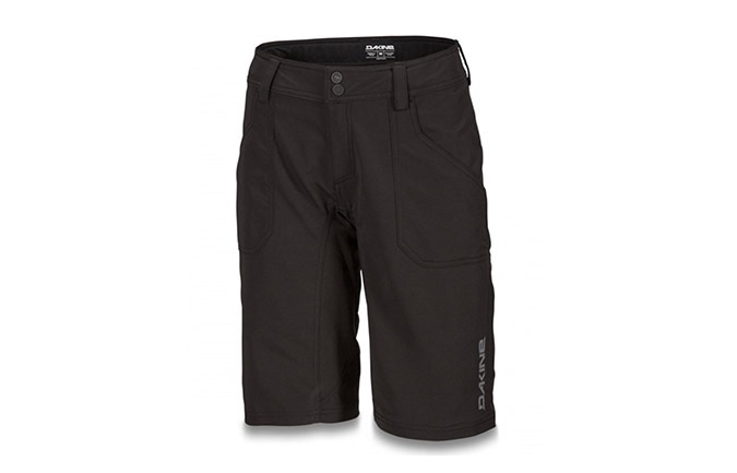 DAKINE WOMENS XENA SHORTS BLACK 2019