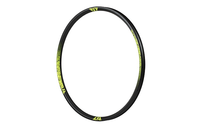 RIDE ALPHA ENDURO RIM 650B YELLOW