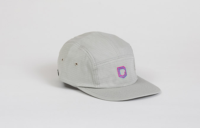 COMMENCAL 5 PANEL RIPSTOP CAP GREY