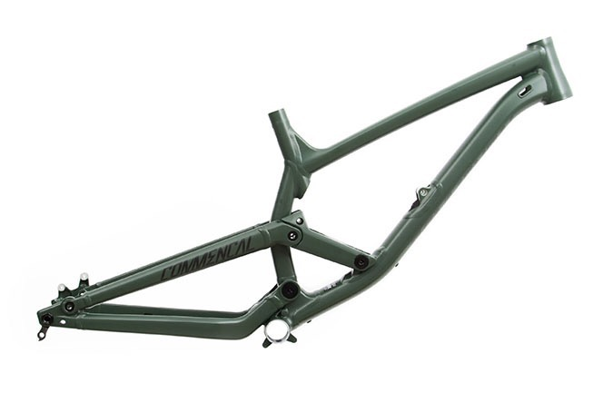 FRAME FURIOUS 650B GREEN TEAM 2018