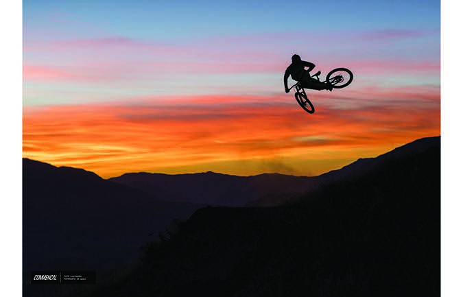 PHOTO PRINT : LOUIS HAMILTON - QUEENSTOWN SUNSET