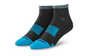 DAKINE SINGLETRACK SOCKS BLACK/BLUEROCK