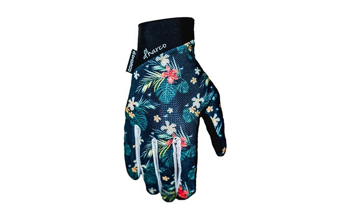 DHARCO LADIES GLOVES- HAWAIIAN FLAMINGO