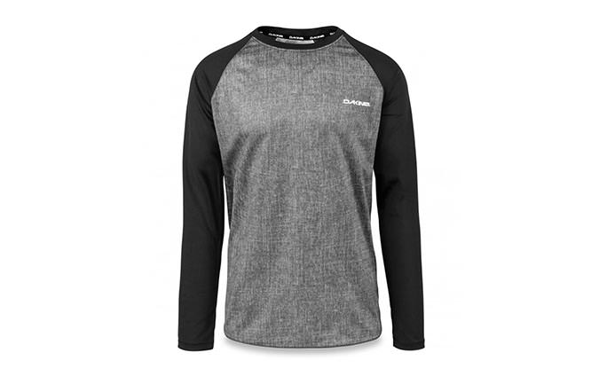 DAKINE LONG SLEEVE DROPOUT  JERSEY CARBON  BLACK 2018