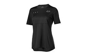 FOX WOMAN FLEXAIR SHORT SLEEVE JERSEY BLACK 2019