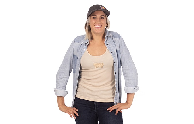 COMMENCAL WOMEN'S TANK TOP OFF-WHITE