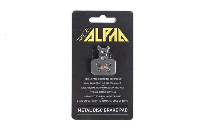 RIDE ALPHA SINTERED BRAKE PADS FOR FORMULA THE ONE/R1/MEGA/RX