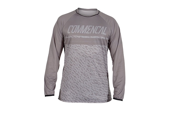 COMMENCAL LONG SLEEVE JERSEY GREY 2019