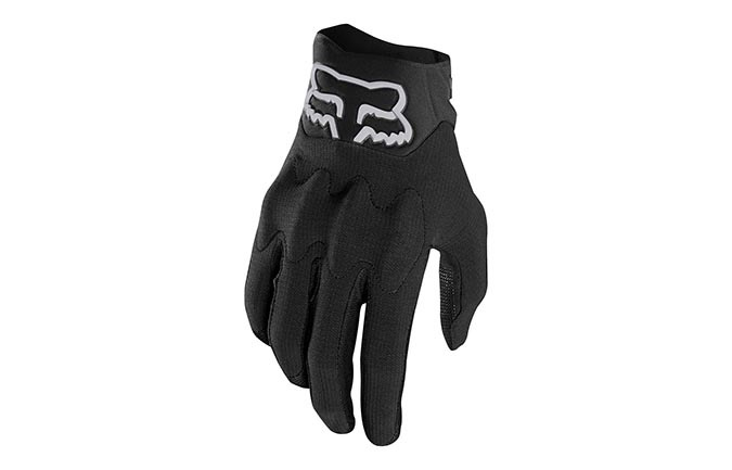 FOX DEFEND KEVLAR D30 BLACK GLOVES 2019