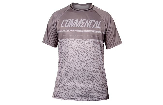 COMMENCAL SHORT SLEEVES JERSEY GREY 2019