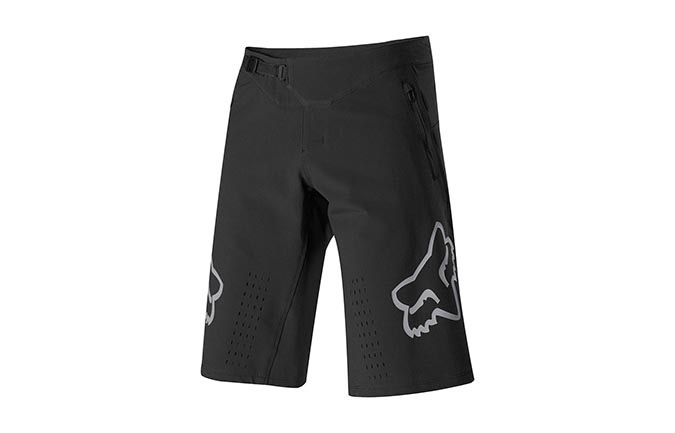 FOX DEFEND SHORTS BLACK 2019