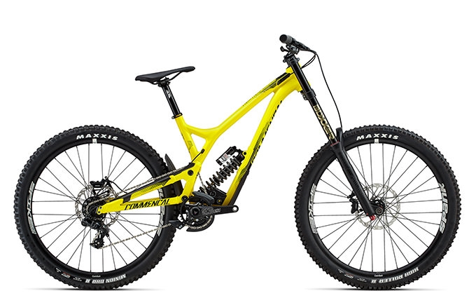SUPREME DH V4.2 RACE 650B YELLOW 2017