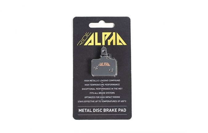 RIDE ALPHA SINTERED BRAKE PADS FOR TEKTRO HDC330/HDC300/AURIGA 2016